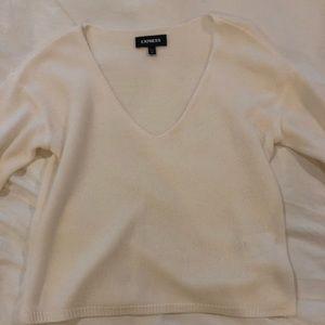 White Express Sweater Shirt
